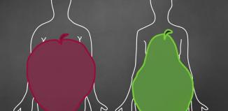 Alimentazione: donne con il corpo a mela e a pera a confronto