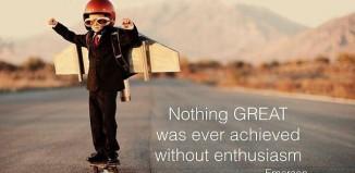 I benefici dell'entusiasmo
