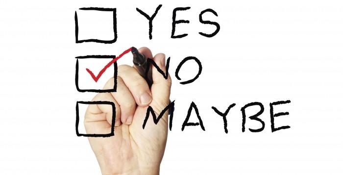 Si può dire di No!
