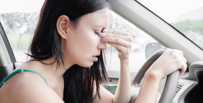 Perché ci viene il mal d'auto?